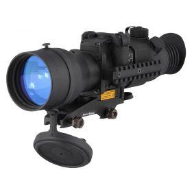 PU-76158BWT: Pulsar Phantom 4x60 MD Night Vision Weapon Scope with BW Russian Gen 2+ Intensifier Tube
