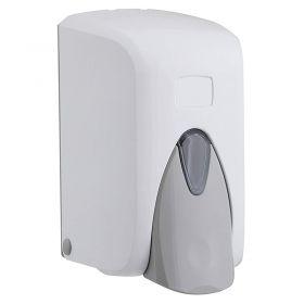 1000ml Refillable White ABS Hand Sanitiser Dispenser