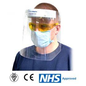 Rototherm BSI-Certified Anti-Fog Face Shield/ Visor
