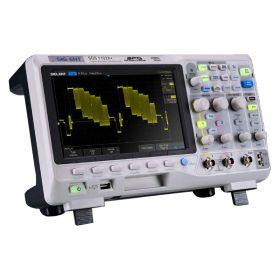 Siglent SDS1102X+ Oscilloscope + Waveform Generator - 100MHz, 2 Ch.