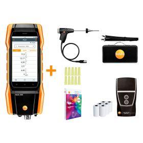 Testo 300 Smart Flue Gas Analyser with NOx Sensor and Printer