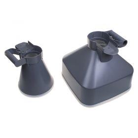 TestSafe Airflow Cone Set - Square/Round Cones for TSAM5 Anemometer