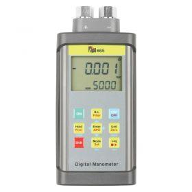 TPI 665 Dual Input Tuffman Digital Manometer w/ Choice of Model