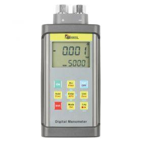 TPI 665L Dual Input Tuffman Digital Manometer for Liquids