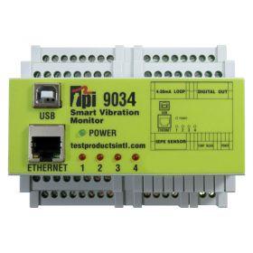 TPI 9034 Smart Vibration Monitor - 4 Channel