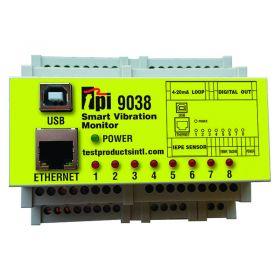 TPI 9038 Smart Vibration Monitor -8 Channel