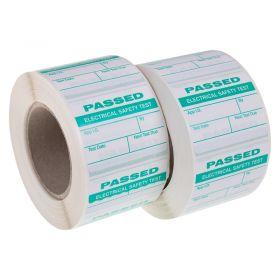 1000 Passed PAT Testing Labels
