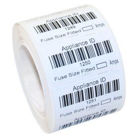1001 2000 Wm15 Custom Barcode Labels