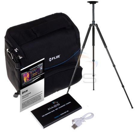 2x FLIR Software (Tools+ & Research IR), Pouch Shoulder Case,  PASS Power Bank & Tripod