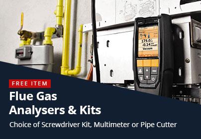 Flue Gas Analysers - Free Item