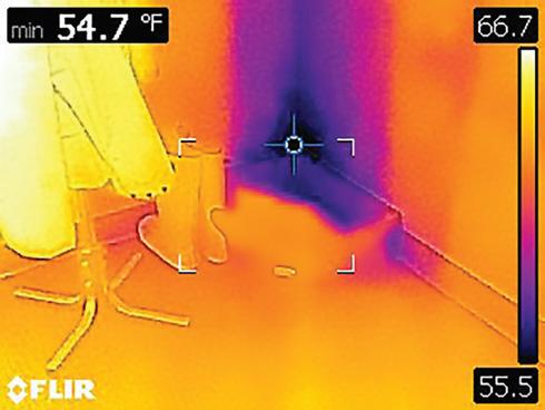 FLIR C3 Thermal Camera Area Box Mode