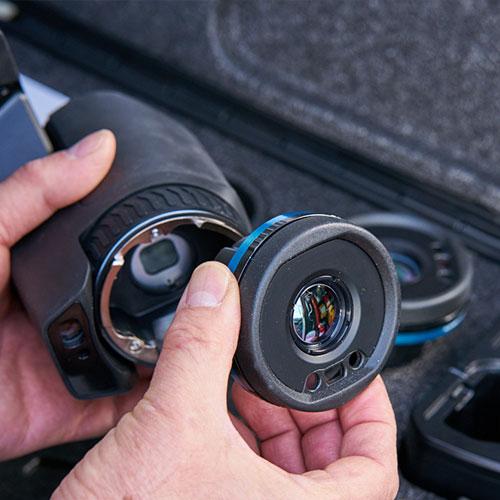 FLIR T530 Swappable Lenses