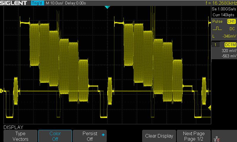 SDS1202X-E Intensity Grading