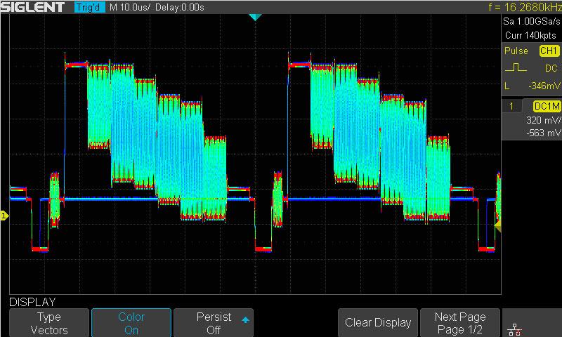 SDS1202X-E Colour Temp