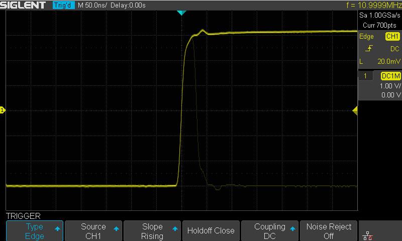 Siglent SDS1202X-E Waveform Capturing