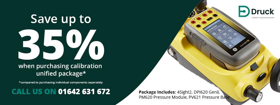 Druck DPI620 Savings