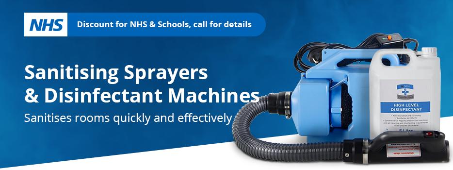 Foggers, Sprayers & Disinfectant