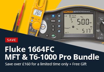 Fluke 1664 & T6-1000 Bundle Offer