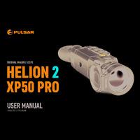 Pulsar Helion 2 XP50 Pro Thermal Imaging Scope - User Manual