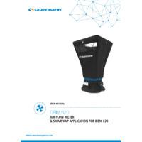 KIMO DBM620 Electronic Air Flow Meter - User Manual