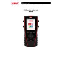 KIMO AMI310 Multifunctional Environmental Meter - User Manual