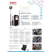 KIMO AMI310 Multifunctional Environmental Meter - Datasheet