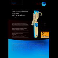 Testo 115i Clamp Thermometer - Datasheet