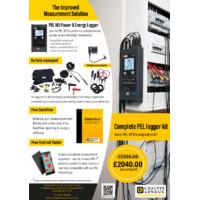 Chauvin Arnoux PEL 103 Logger Kit - Offer Leaflet