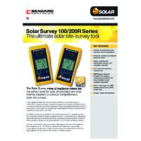 Seaward Solar Survey 100 Irradiance Meter - Datasheet