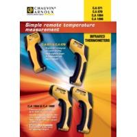 Chauvin Arnoux CA871 Infrared Thermometer - Datasheet