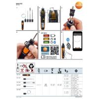 Testo 915i Thermometer Smart Probe - Quick Start Guide