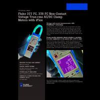 Fluke 377 & 378 AC-DC Clamp Meter - Datasheet