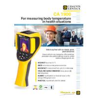 Chauvin Arnoux CA1900 Body Temp Thermal Camera - Datasheet