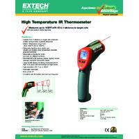 Extech 42545 High Temperature IR Thermometer - Datasheet