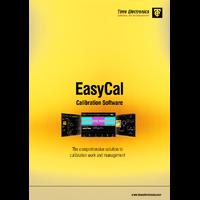 Time Electronics EasyCal Calibration Software - Brochure