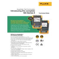 Fluke 190-Series ScopeMeters - Datasheet