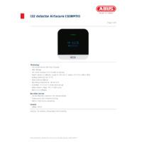 ABUS AirSecure CO2 Detector - Datasheet