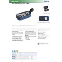 Kern ORM Digital Brix Refractometer - Datasheet