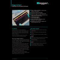 Megger CertSuite™ Electrical Certification Software - Datasheet