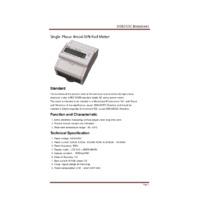 RDL DDS353C Three Phase Meter Datasheet