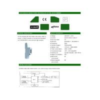 RDL DDS353 Single Phase Meter Datasheet
