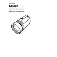 Extech 461830 Digital StroboTach - User Manual