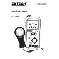 Extech LT300 Light Meter - User Manual