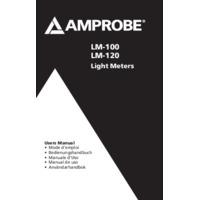Amprobe LM-120 Light Meter - User Manual