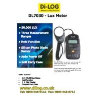 DiLog DL7030 Digital Light Meter - Datasheet