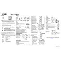 Extech HW30 HeatWatch - User Manual