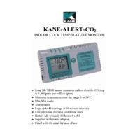 Kane Alert CO2 Monitor - Datasheet
