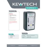 Kewtech KEWPROVE 3 Proving Unit - Datasheet