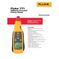 Fluke 771 Datasheet