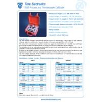 Time Electronics 7050 Multifunction Process Calibrator - Datasheet